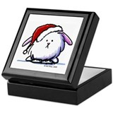 Holiday Dust Bunny Keepsake Box