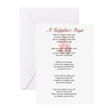 Firefighter's Prayer Greeting Cards (Pk of 10)