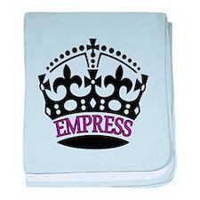 EMPRESS Purple baby blanket