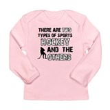 Hockey designs Long Sleeve Infant T-Shirt