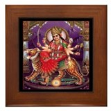 Durga Framed Tile