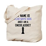 Custom Chess Addict Tote Bag