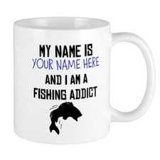 Custom Fishing Addict Mug