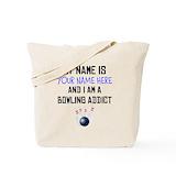 Bowling Totes & Shopping Bags