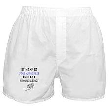 Custom Running Addict Boxer Shorts