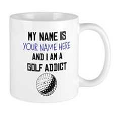 Custom Golf Addict Small Mug
