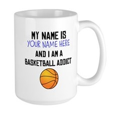 Custom Basketball Addict Mug
