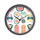 Sushi Wall Clock
