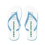 Michigan Spartans State College Flip Flop Sandals