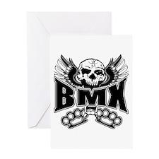 BMX Brass Knuckles Greeting Card