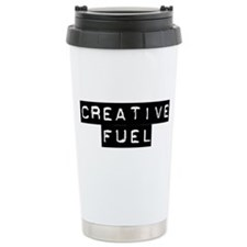 Coffee is creative fuel Travel Mug