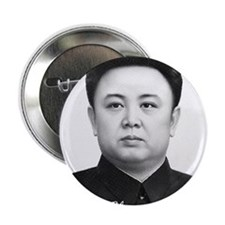 "Kim Jong Il 2.25"" Button (10 pack)"