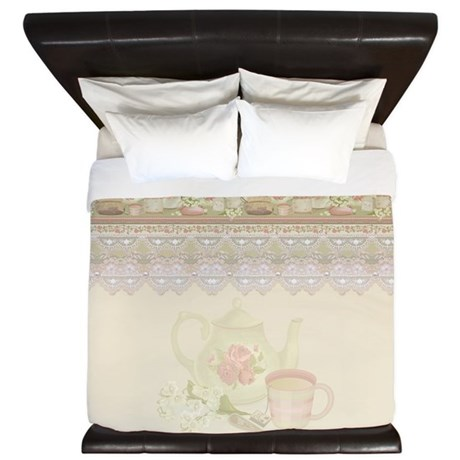 Vintage Tea King Duvet