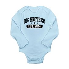 Big Brother Est. 2014 Long Sleeve Infant Bodysuit