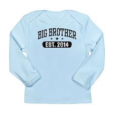 Big Brother Est. 2014 Long Sleeve Infant T-Shirt