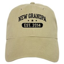 New Grandpa Est. 2014 Hat