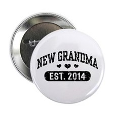 "New Grandma Est. 2014 2.25"" Button"