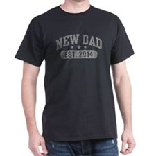 New Dad Est. 2014 T-Shirt