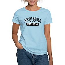New Mom Est. 2014 T-Shirt