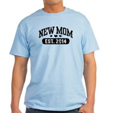 New Mom Est. 2014 T-Shirt