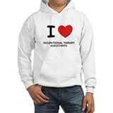 I love occupational therapy assistants Hoodie