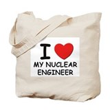 I love nuclear engineers Tote Bag