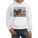 Bedouin Riding with Saluki Hounds Hoodie