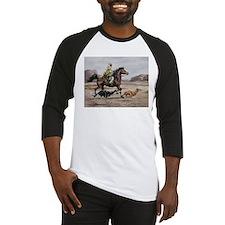 Bedouin Riding with Saluki Hounds Baseball Jersey