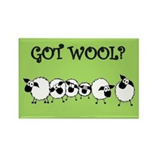 GOT WOOL? Rectangle Magnet