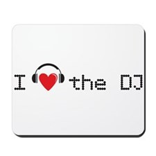 I love the DJ with headphones and heart design Mou