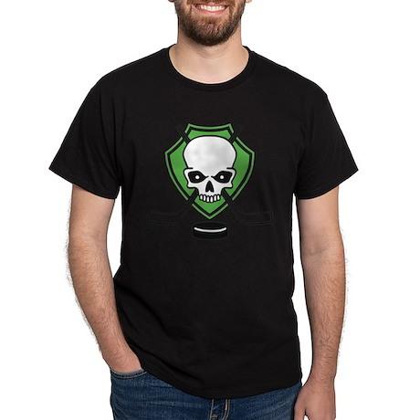 ice hockey skull T-Shirt