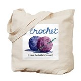 icrochetballs.JPG Tote Bag