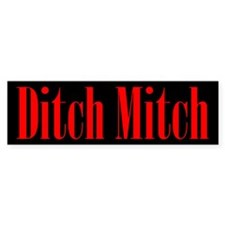Ditch Mitch Bumper Bumper Sticker Bumper Bumper Sticker