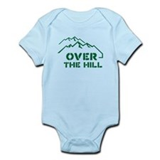 Over the hill mountain range design Body Suit