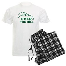Over the hill mountain range design Pajamas