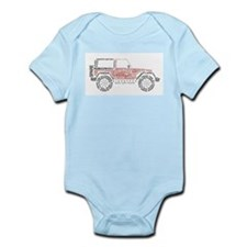 Jeep Wrangler Words Body Suit