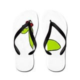 Loch Ness Monster Flip Flops