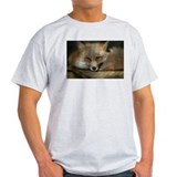 Red Fox Ash Grey T-Shirt