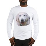 Sebastian: Handsome Golden Retriever Long Sleeve T