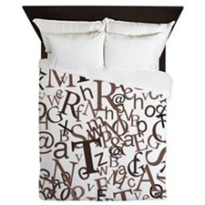 Type Art Queen Duvet