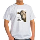 Have you herd? Ash Grey T-Shirt