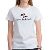 Kickboxing / Girls Kick Butt - Jr. Jersey Tee T-Sh