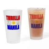THRILLA FROM MANILA Drinking Glass