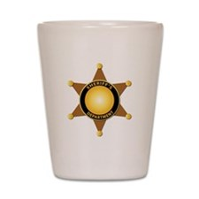 Sheriff's Department Badge Shot Glass