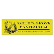 Smith's Grove Sanitarium Bumper Sticker