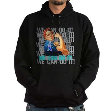 Rosie The Riveter Thyroid Cancer Hoodie
