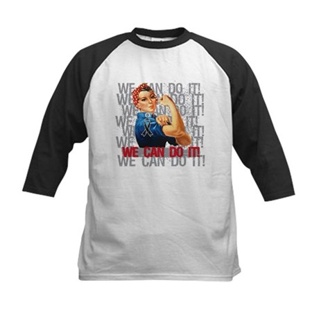 Rosie The Riveter Skin Cancer Baseball Jersey