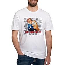 Rosie The Riveter Retinoblastoma T-Shirt