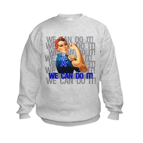 Rosie The Riveter Rectal Cancer Sweatshirt