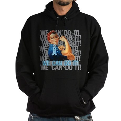 Rosie The Riveter Prostate Cancer Hoodie